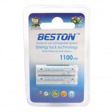 Аккумулятор BESTON AAA 1100mAh Ni-MH 2шт Ready-to-use